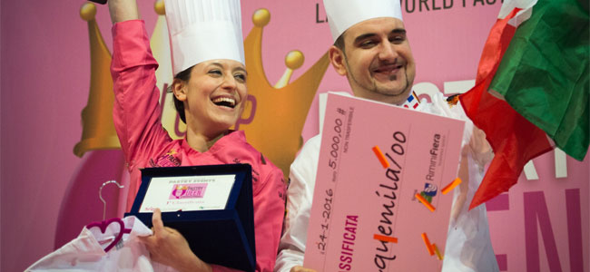 The Italian chef Silvia Federica Boldetti is Pastry Queen 2016