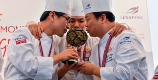 South Korea, winner Coupe du Monde de la Boulangerie 2016
