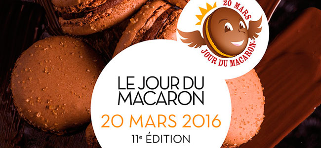 Le Jour du Macaron 2016 will be on 19 and 20 March