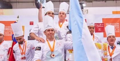 Copa Maya podium