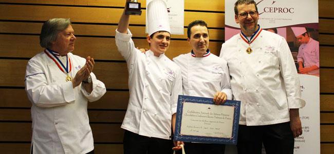 Corentin Poirier-Martinet, France's Best Apprentice Pastry Chef 2016