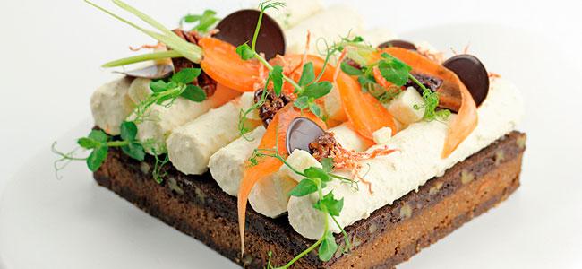 Brownie carrot coconut cake by Marike Van Beurden