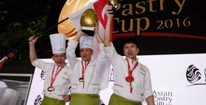 Singapore wins Asia Pastry Cup 2016