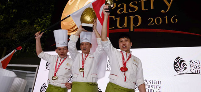 Singapore wins the Asian Pastry Cup