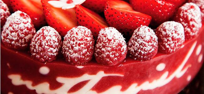 Signature Strawberry Charlotte by Nathaniel Reid
