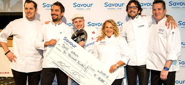 Deniz Karaca is the first Savour Patissier of the Year