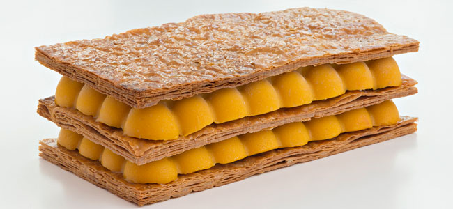 Philippe Conticini re-imagines the perfect millefeuille for summer