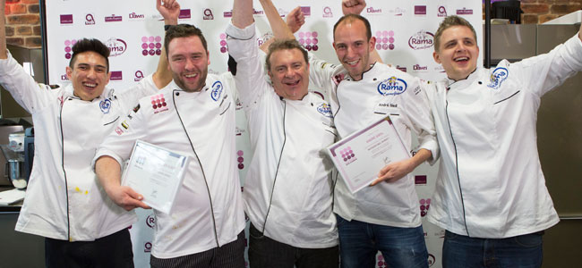 André Siedl and Alexander Huber, the first finalists of the Patissier des Jahres 2016-2017