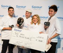 podium Savour Patissier of the Year