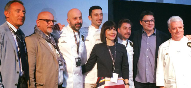 Restaurant pastry, for the first time in World Pastry Stars