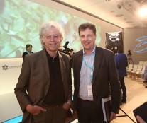 Bob Geldof and Antoine de Saint-Affrique