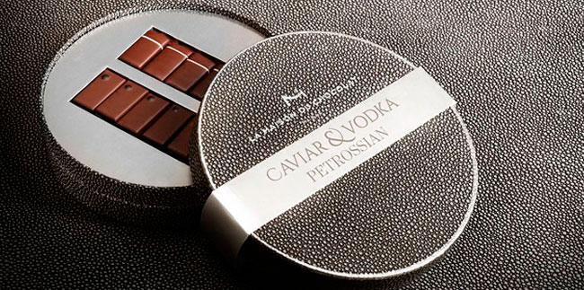 Cofre caviar & vodka La Maison du Chocolat