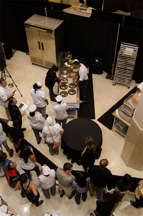 Competitions in Pastry Live