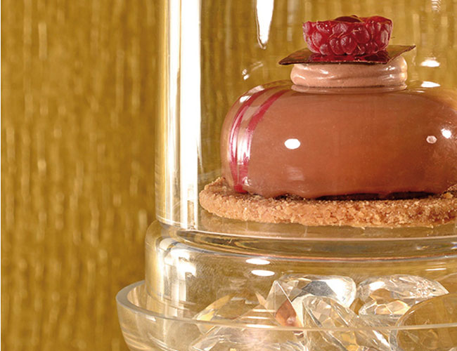 Crunchy framboise by Philippe Rigollot