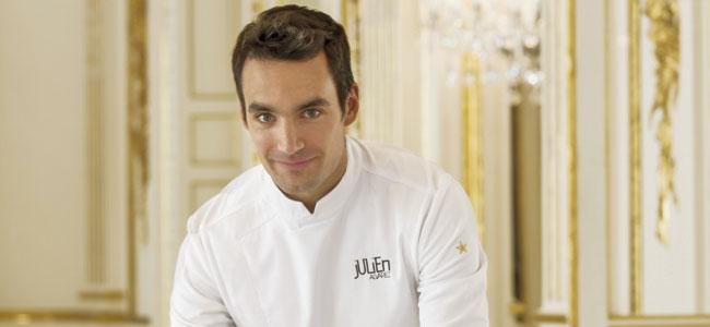 Julien Álvarez updates the menu at Café Pouchkine Paris