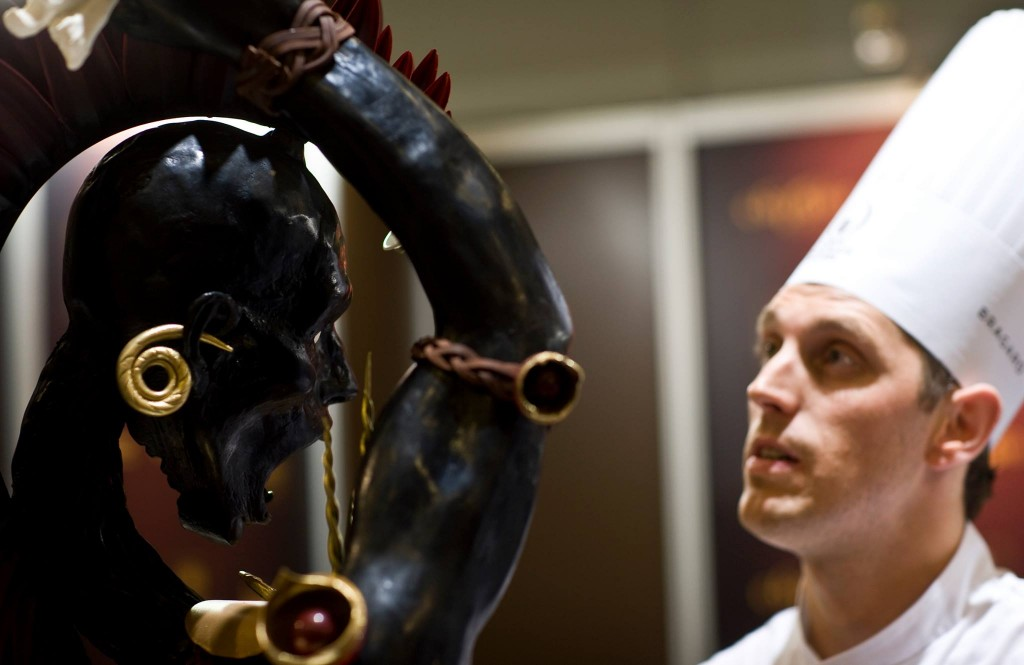 Frank Haasnoot won the World Chocolate Masters 2011