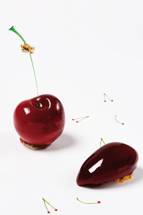 Cherries pistachio by Laurent Jeannin