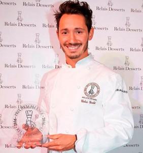 Cédric Grolet, Best Pastry Chef Relais Desserts 2016