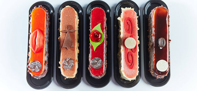 Evocative éclairs by the hand of Alain Chartier