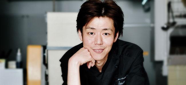 Naoki Fujiwara. Sense of season, ingredients and Nara-ness