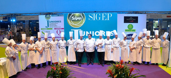Parade of pastry competitions in Sigep 2017