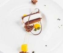 Joel Gonzalez's plated dessert