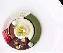 Plate dessert's Fredrik Borksborg