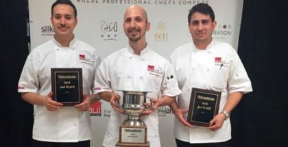 Winners AIU Pastry Cup