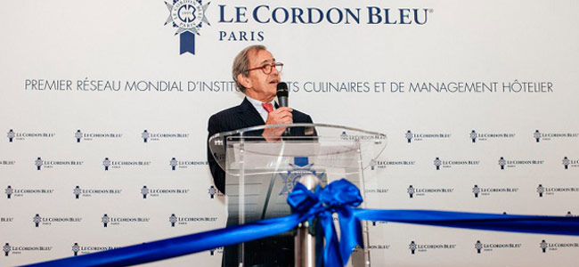 Official opening of the new Le Cordon Bleu Paris campus