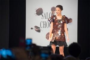 Chocolate Fashion Show. Salon du Chocolat Paris 2016
