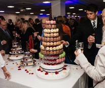 Macaron in inauguration of Le Cordon Bleu Paris