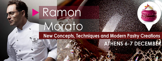 Ramon Morató presents his latest creations in Athens