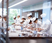 Students of Le Cordon Bleu Paris