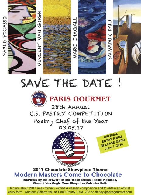 Information of US Pastry Competition 2017