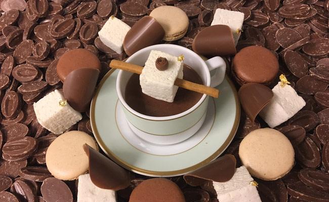 Ladurée hot chocolate