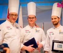 Italian team. Worls Junior Pastry Championship 2017
