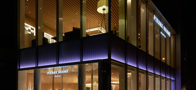 "Reopening Pierre Hermé's ""Aoyama"" boutique in Tokyo"