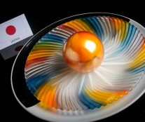 Dessert by Japan in World Junior Pastry Championship