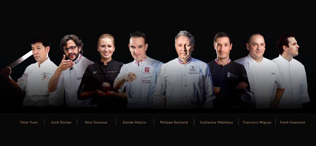 Jordi Bordas sets off the Bangkok World Pastry