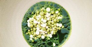 Juniper, pear and buttermilk whey by Soren Selin