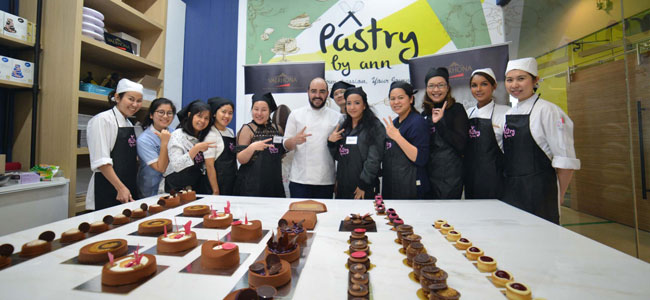 International Chefs in Pastry by Ann's Training Program in Bangkok