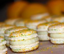 Second prize: Anne-Laure Cazabonne's macaroon