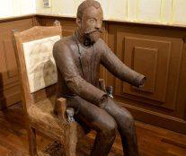 Ernst David on chair