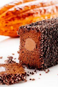 Interior Chocolate Ghana Cake by Jordi Bordas