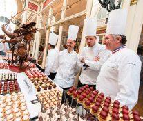 Buffet Loire-Bretagne with Aurélien Trottier, Alban Guilmet and Alain Chartier. Meeting Relais Desserts Nantes