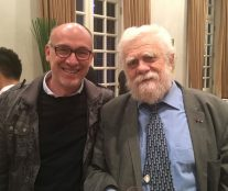 Carlos Barrachina, our Editor-in-Chief, with Gabriel Paillasson
