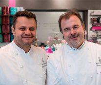 Vincent Guerlais and Pierre Hermé in Meeting Relais Desserts Nantes