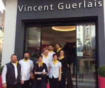 visiting boutique Guerlais in Nantes. Meeting Relais Desserts
