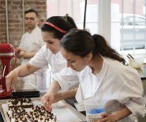 Students masterclass Patrice Demers Valrhona Brooklyn