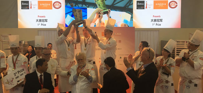 China celebrates its I Pastry Cup in a big way